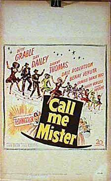 فیلم سینمایی Call Me Mister به کارگردانی Lloyd Bacon