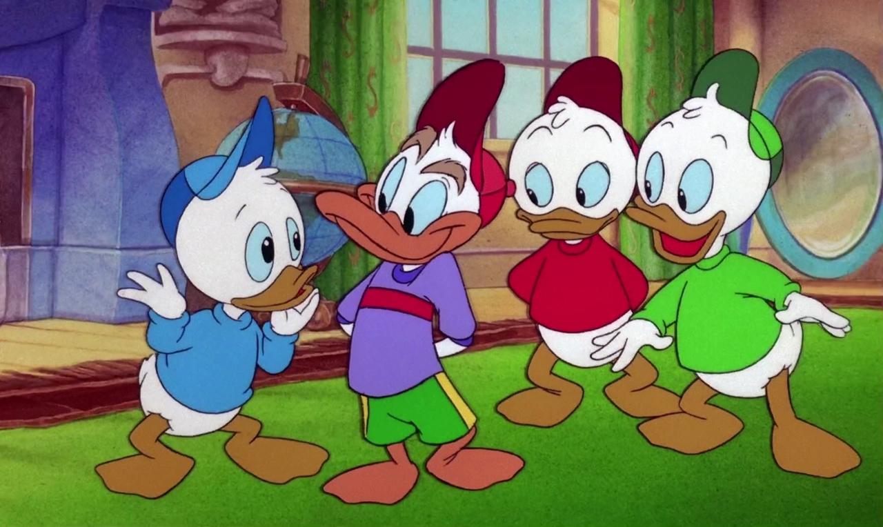 فیلم سینمایی داستان اردک و چراغ جادو به کارگردانی Bob Hathcock