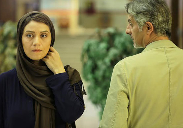 جلال فاطمی در صحنه فیلم سینمایی آنها به همراه شبنم مقدمی
