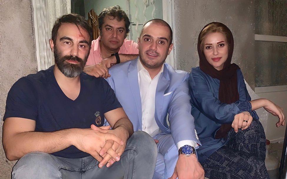 پشت صحنه فیلم سینمایی سه کام حبس به کارگردانی سامان سالور