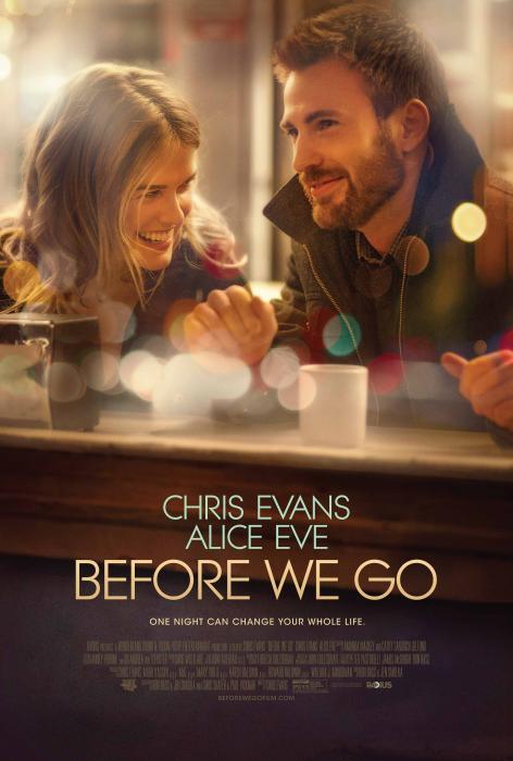 فیلم سینمایی قبل از آنکه ما بریم با حضور آلیس ایو و کریس ایوانز