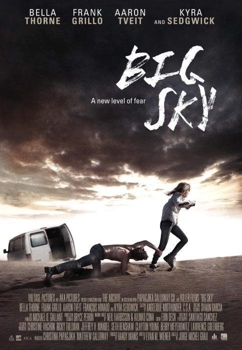 فیلم سینمایی Big Sky به کارگردانی Jorge Michel Grau