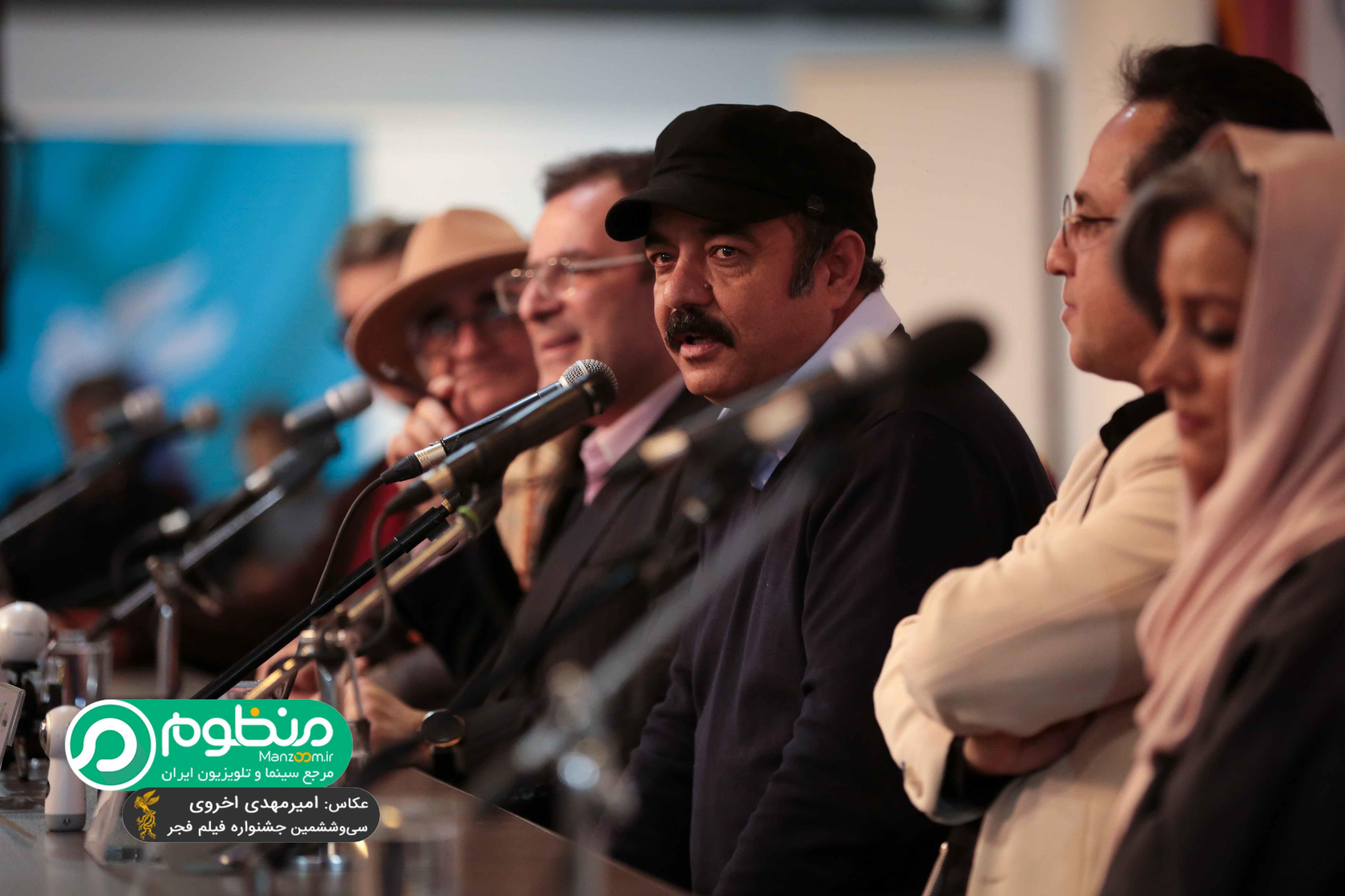 نشست خبری فیلم سینمایی کامیون با حضور سعید آقاخانی