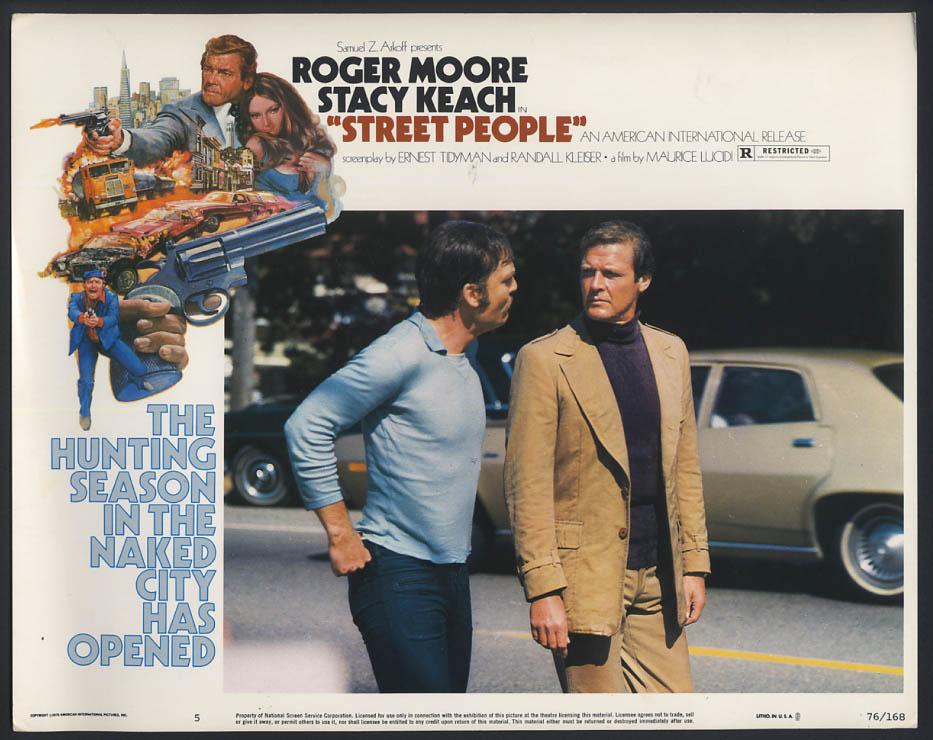 فیلم سینمایی Street People با حضور Roger Moore و استیسی کیچ