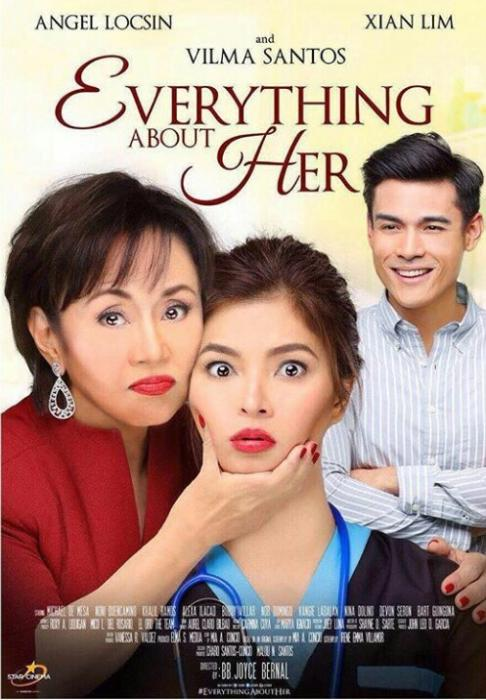 فیلم سینمایی Everything About Her با حضور Angel Locsin، Xian Lim و Vilma Santos