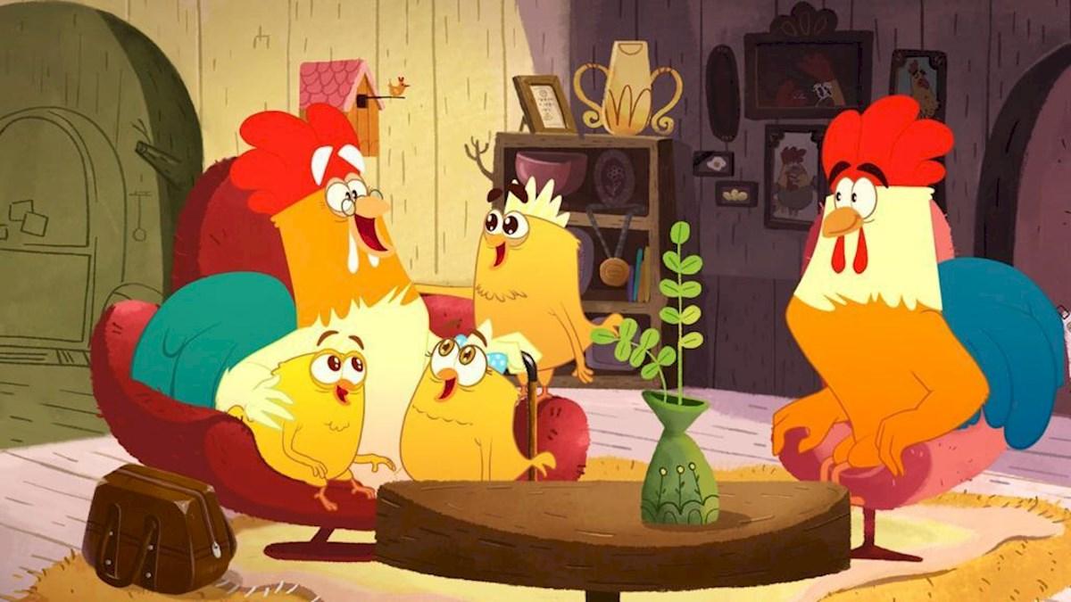 انیمیشن تلویزیونی روبی وجوجه ها 2 به کارگردانی بهنود نکویی و بابک نکویی