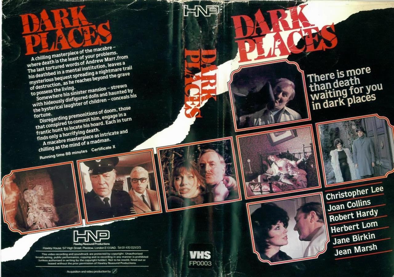 فیلم سینمایی Dark Places به کارگردانی Don Sharp