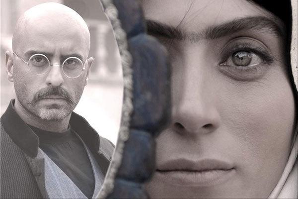 بهارک صالحنیا در صحنه فیلم سینمایی یتیمخانه ایران به همراه علیرام نورایی