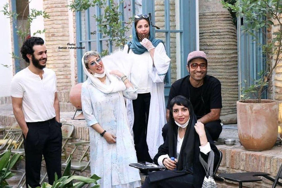 فیلم سینمایی شنای پروانه با حضور محمدعلی شادمان، طناز طباطبایی و پانتهآ بهرام