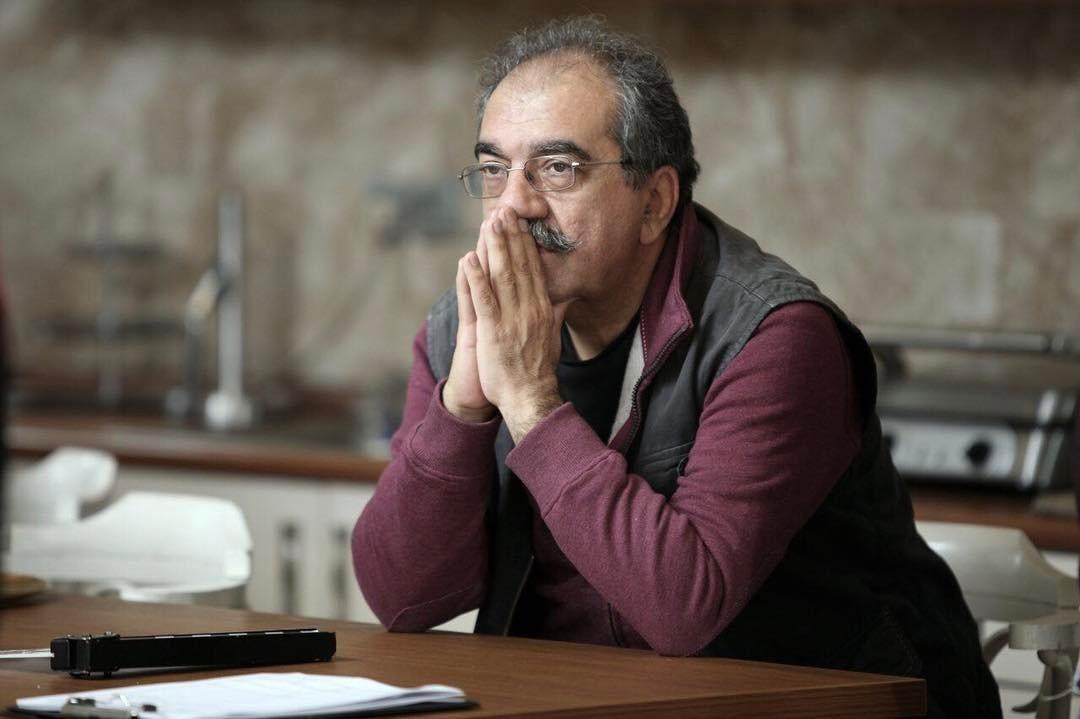 تورج منصوری در پشت صحنه فیلم سینمایی فصل نرگس