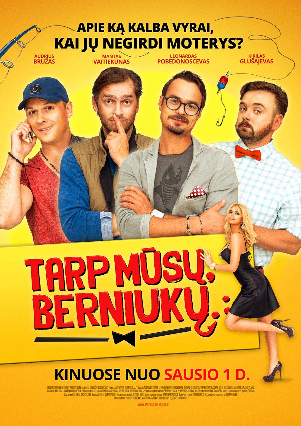 فیلم سینمایی Tarp musu, berniuku به کارگردانی Kestutis Gudavicius