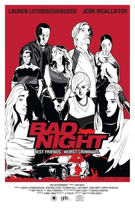فیلم سینمایی Bad Night به کارگردانی Chris Riedell و Nick Riedell