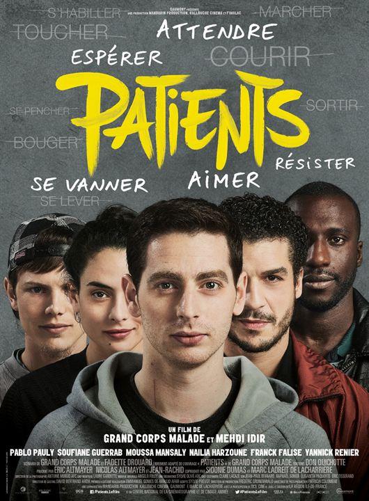 فیلم سینمایی Patients به کارگردانی Grand Corps Malade و Mehdi Idir