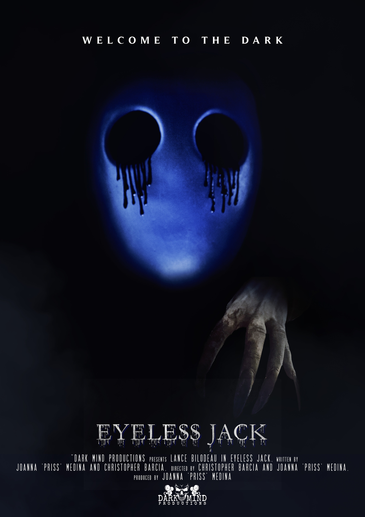 فیلم سینمایی Eyeless Jack به کارگردانی Chris Barcia و Joanna 'Priss' Medina