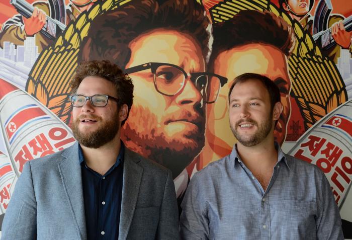 فیلم سینمایی مصاحبه با حضور Seth Rogen و Evan Goldberg