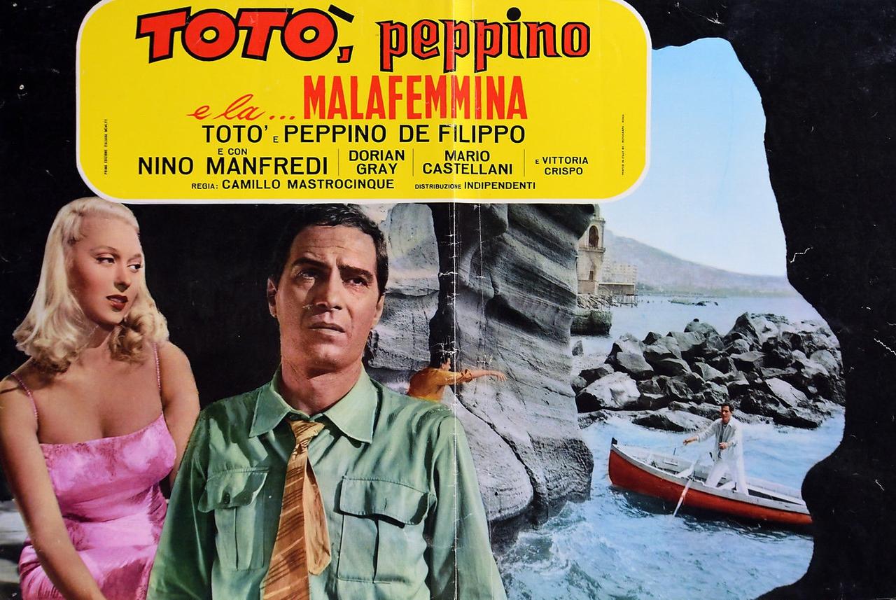 فیلم سینمایی Toto, Peppino, and the Hussy با حضور Dorian Gray و Nino Manfredi