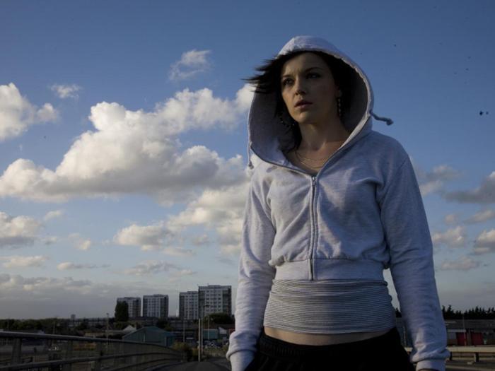فیلم سینمایی حوض ماهی با حضور Katie Jarvis