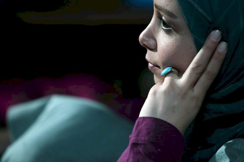 فرناز رهنما در صحنه سریال تلویزیونی هشت و نیم دقیقه