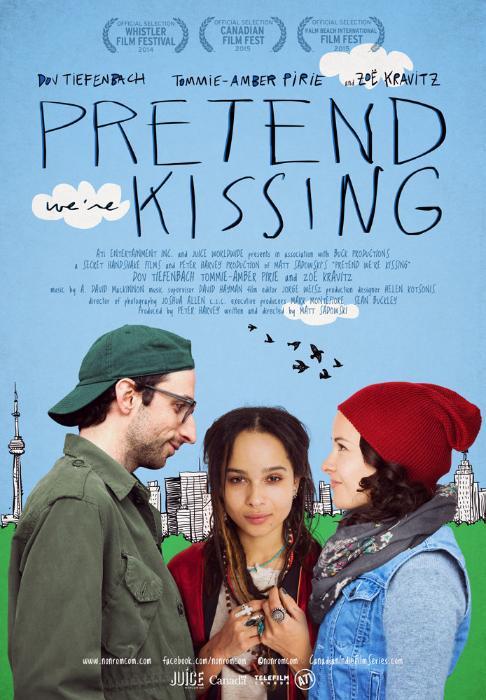 فیلم سینمایی Pretend We're Kissing به کارگردانی Matt Sadowski