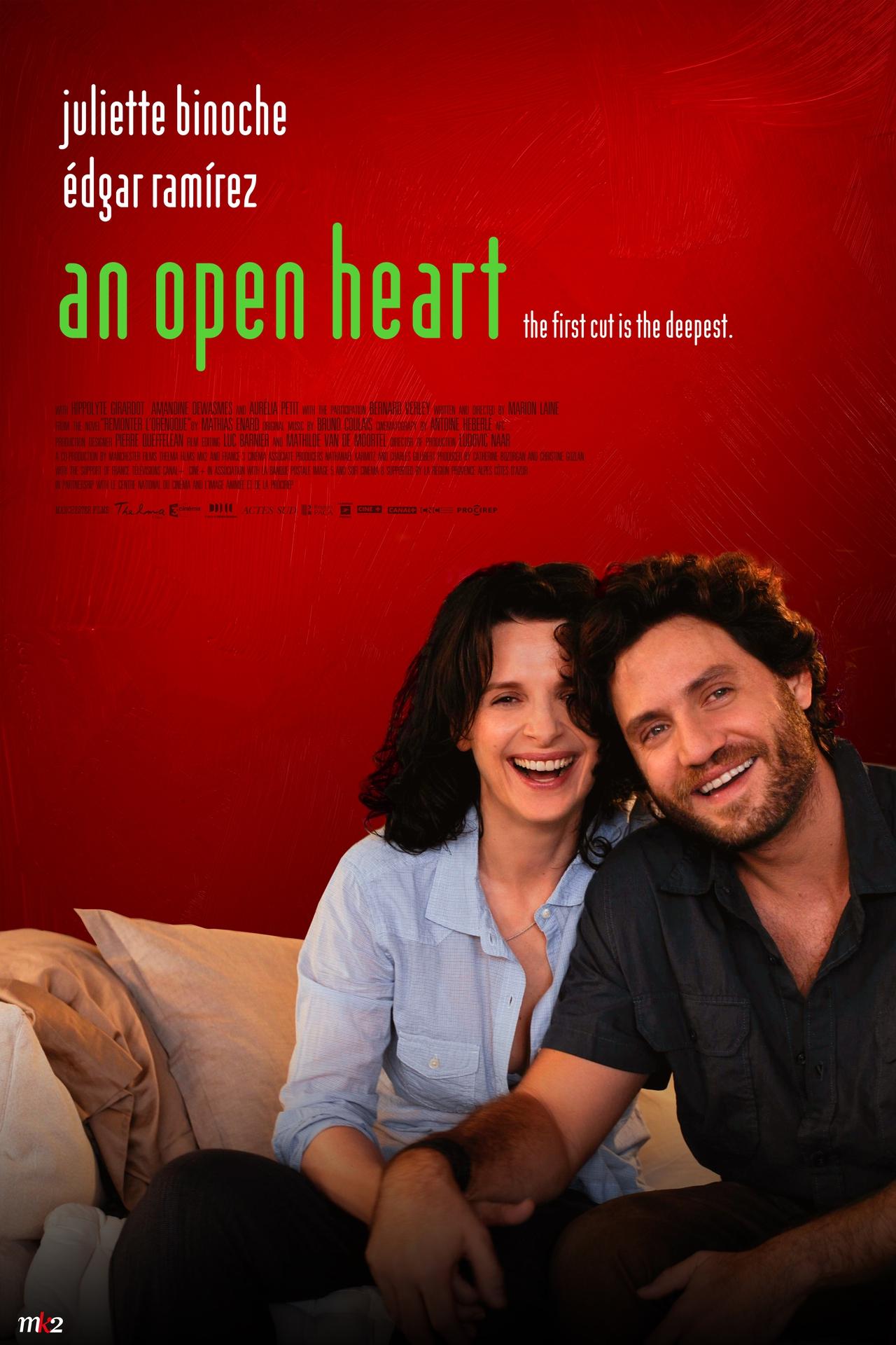 فیلم سینمایی An Open Heart با حضور ژولیت بینوش و ادگار رامیرز