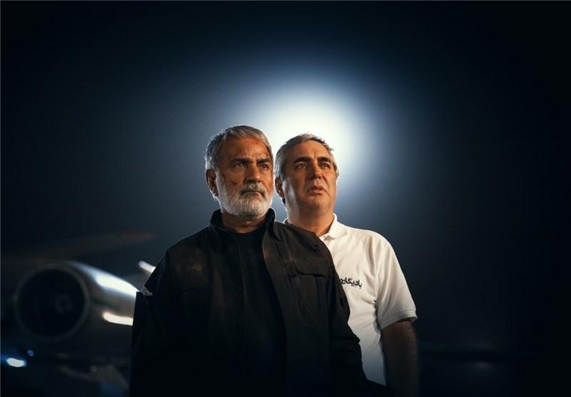 پشت صحنه فیلم سینمایی بادیگارد با حضور ابراهیم حاتمیکیا و پرویز پرستویی