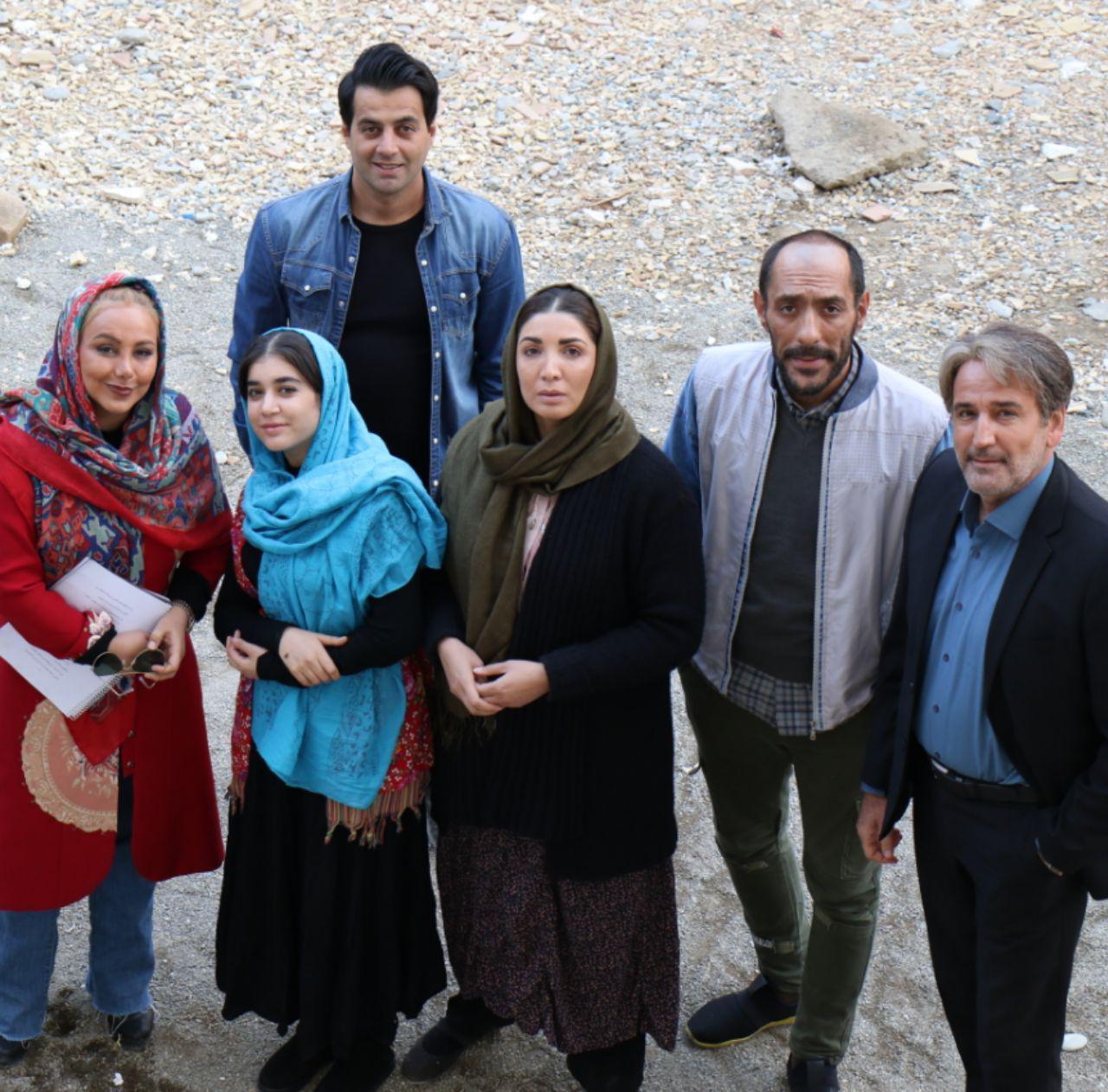 پشت صحنه فیلم سینمایی نیلم به کارگردانی احمد تجری