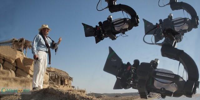 ویتوریو استورارو در پشت صحنه فیلم سینمایی محمد رسول الله