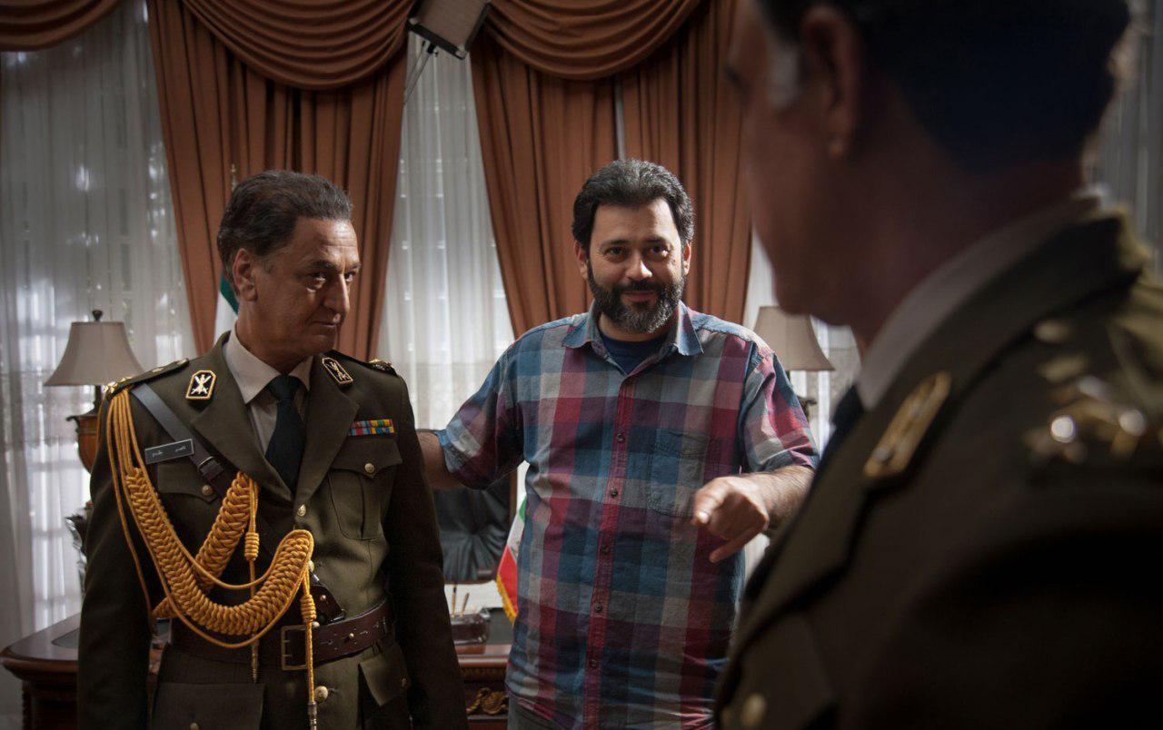 محمدرضا ورزی در صحنه سریال تلویزیونی ستارخان