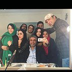 پشت صحنه سریال تلویزیونی گسل با حضور بیژن امکانیان، فلور نظری و ستاره حسینی