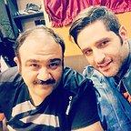 تصویری شخصی از پوریا ایرایی، بازیگر سینما و تلویزیون به همراه مهران غفوریان