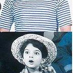تصویری از امید آهنگر، بازیگر سینما و تلویزیون در پشت صحنه یکی از آثارش