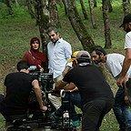 پشت صحنه فیلم سینمایی ایتالیا ایتالیا با حضور حامد کمیلی و سارا بهرامی