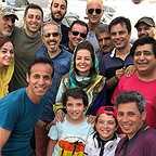 پشت صحنه فیلم سینمایی پیشی میشی با حضور نفیسه روشن، رضا شفیعیجم و سید جواد رضویان