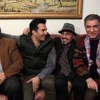 پشت صحنه سریال تلویزیونی پنچری با حضور رضا عطاران، بهشاد شریفیان و یوسف تیموری