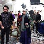 پشت صحنه سریال تلویزیونی پنچری با حضور بهشاد شریفیان و زهره فکورصبور