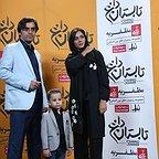 اکران افتتاحیه فیلم سینمایی تابستان داغ با حضور پریناز ایزدیار و ابراهیم ایرج زاد