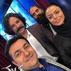 پشت صحنه برنامه تلویزیونی خیابان جام جم با حضور علیرضا ابراهیمی و حسام منظور