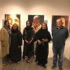 تصویری شخصی از آزاده اسماعیلخانی، بازیگر سینما و تلویزیون به همراه رابعه اسکویی، پریناز ایزدیار و گوهر خیراندیش