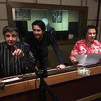 تصویری شخصی از رضا یارخلج، بازیگر سینما و تلویزیون به همراه آرش میراحمدی
