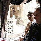 پشت صحنه فیلم سینمایی شعلهور با حضور حمید نعمتالله