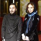 رعنا آزادیور، بازیگر سینما و تلویزیون - عکس جشنواره به همراه نوید محمدزاده