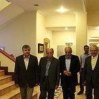 علی نصیریان، بازیگر و کارشناس سینما و تلویزیون - عکس مراسم خبری