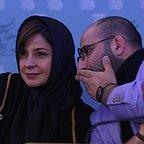 نشست خبری فیلم سینمایی ماجان با حضور سعید بجنوردی و سیما تیرانداز