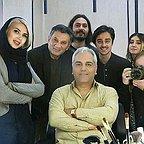 تست گريم سریال شبکه نمایش خانگی هیولا با حضور مهران مدیری