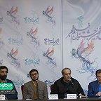 نشست خبری فیلم سینمایی شعلهور با حضور حمید نعمتالله، هادی مقدمدوست و محمدرضا شفیعی