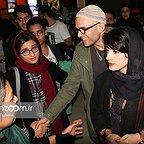اکران افتتاحیه فیلم سینمایی لاک قرمز با حضور بابک حمیدیان و مینا ساداتی