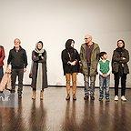 اکران افتتاحیه فیلم سینمایی لاک قرمز با حضور مسعود کرامتی، بابک حمیدیان، مینا ساداتی و پردیس احمدیه