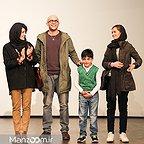اکران افتتاحیه فیلم سینمایی لاک قرمز با حضور بابک حمیدیان، مینا ساداتی و پردیس احمدیه