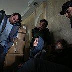 پشت صحنه فیلم سینمایی رگ خواب با حضور فرشاد محمدی و لیلا حاتمی