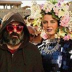 پشت صحنه فیلم سینمایی خوک با حضور حسن معجونی، لیلا حاتمی و رضا یزدانی